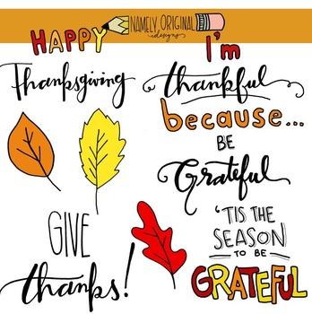 Thanksgiving Greetings Clip Art