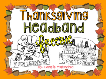 Thanksgiving Headband FREEBIE