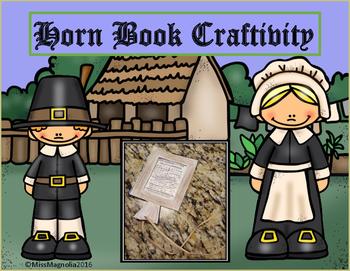 Thanksgiving Horn Book Craftivity