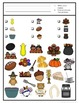 Thanksgiving Game: I Spy adapted with 3 levels