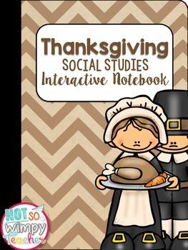 Thanksgiving Interactive Notebook