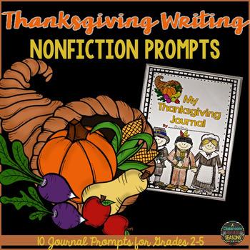Thanksgiving Writing (Nonfiction)