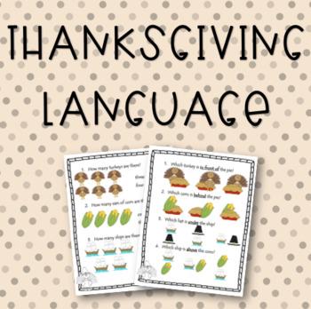Thanksgiving Language