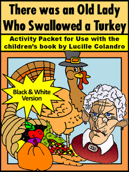 Thanksgiving Language Arts Activities: Old Lady Who Swallo