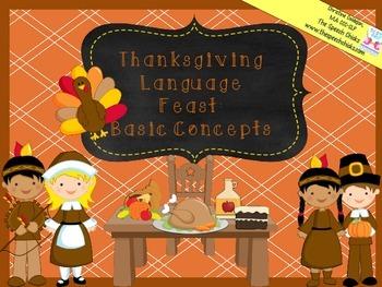 Thanksgiving Language Feast: Basic Concepts