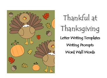 Thanksgiving Letter Packet