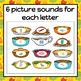 Thanksgiving Letter Sound Sort