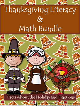 Thanksgiving BUNDLE: The Pilgrims, Informational Text & Fr