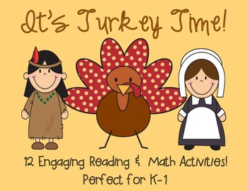 Thanksgiving Literacy & Math Games!