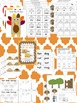 Thanksgiving Literacy and Math Activities  (150 pages; Com