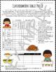 Thanksgiving Logic Puzzles -  Double Matrix