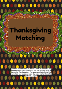 Thanksgiving Matching