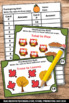 Thanksgiving Math Centers RATIOS 5th 6th Grade Games & Act