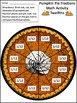 Thanksgiving Math Activities: Pumpkin Pie Fractions Math A