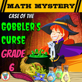 Thanksgiving Math Activity: Math Mystery {GRADE 6 Mixed Ma