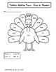 Guided Math:  Thankgiving and Fall Math 1st and 2nd Grade