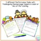 Thanksgiving Math Activities Primary Grades