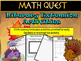 Thanksgiving Math Activity: Math Quest - The Terrible Turk