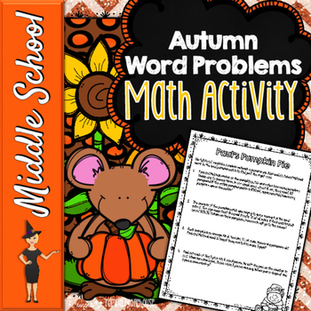 Rate, Unit Rate, Percentage, Proportions -  Thanksgiving M