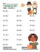 """""""Thanksgiving Math"""" Add Within 20 - Common Core - Addition"""