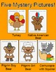 Thanksgiving Activities Coordinate Graphing Mystery Pictur