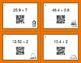 Thanksgiving Math: Dividing Decimals QR Code Task Cards