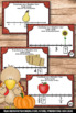 Thanksgiving Fractions on a Number Line Math Centers Task