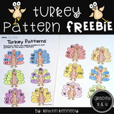 Thanksgiving Math Freebie for Grades 3 and 4