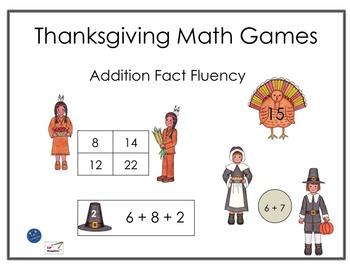 Thanksgiving Math Games