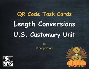 Thanksgiving Math: Length Conversions U.S. Customary Unit