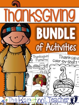 Thanksgiving Activities A Math & Language Arts Bundle