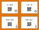 Thanksgiving Math: Multiplying Decimals QR Code Task Cards