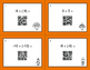 Thanksgiving Math: Multiplying Integers QR Code Task Cards