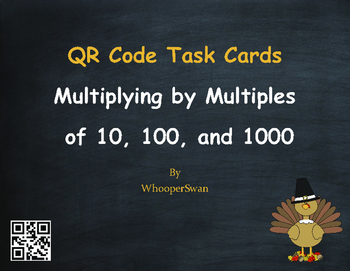 Thanksgiving Math: Multiplying by Multiples of 10, 100, an
