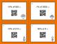 Thanksgiving Math: Percents QR Code Task Cards