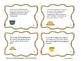 Thanksgiving Math Word Problem Task Cards