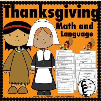 Thanksgiving Math and Language