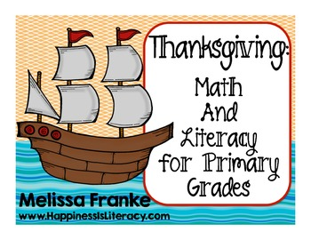 Thanksgiving: Math and Literacy for Primary Grades