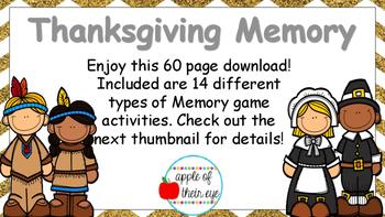 Thanksgiving Memory