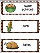 Thanksgiving Menu Writing Activity
