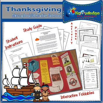 Thanksgiving Mini-Lapbook