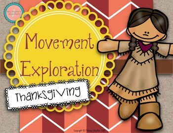 Thanksgiving Movement Exploration Cards