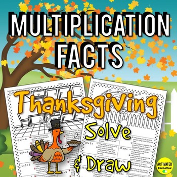 Thanksgiving Math: Multiplication Facts
