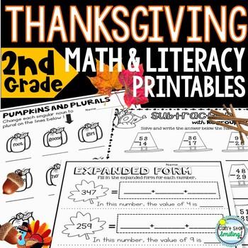 Thanksgiving Activities 2nd Grade ~ Thanksgiving Writing