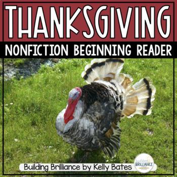 Thanksgiving Nonfiction Emergent Reader