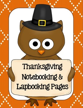 Thanksgiving Notebooking & Lapbooking