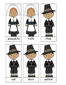 Thanksgiving Noun Sort