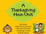 Thanksgiving Nouns Unit