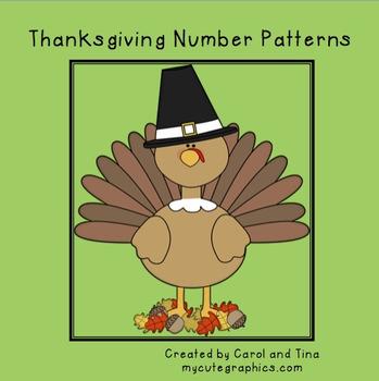 Thanksgiving Number Patterns
