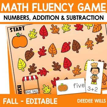 Math Fluency:  Thanksgiving